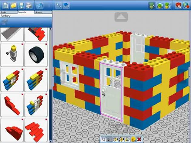 Ldd lego digital designer grafica guide www for Creare piani di costruzione